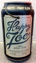 Happy Joe Dry Apple Cider