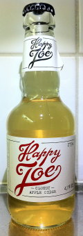 Happy Joe Cloudy Apple Cider - Cider