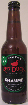 Red Duck + Kissmeyer Gnaume