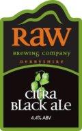 Raw Citra Black Ale