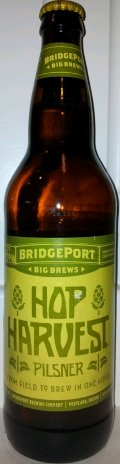 BridgePort Hop Harvest Pilsner - Imperial Pils/Strong Pale Lager