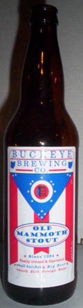 Buckeye Old Mammoth Stout