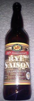 Wild Rose 16th Anniversary Rye Saison