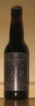 Evil Twin The Beer Formerly known as Blackout - Imperial/Strong Porter