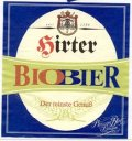 Hirter Biobier - Pale Lager