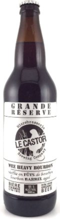 Le Castor Wee Heavy Bourbon Grande R�serve