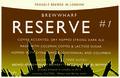 Brew Wharf Reserve #1