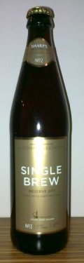 Sharps Single Brew Reserve 2011