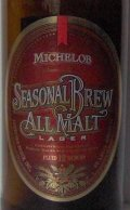 Michelob Seasonal Brew All Malt Lager - Pale Lager