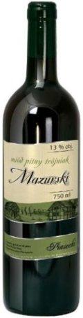 Mazurskie Miody Mi�d Pitny Tr�jniak Mazurski