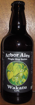 Arbor Single Hop Wakatu - Golden Ale/Blond Ale