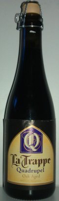 La Trappe Quadrupel Oak Aged Batch #12