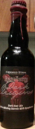Crooked Stave Raspberry Dark Origins - Sour Red/Brown