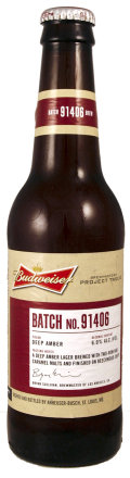Budweiser Project Twelve - Batch 91406 (Los Angeles) - Amber Lager/Vienna
