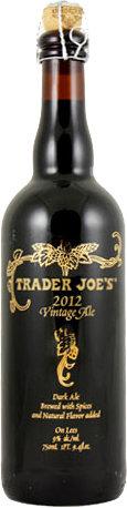 Trader Joe�s Vintage Ale 2012