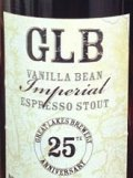 Great Lakes Brewing 25th Anniversary Imperial Vanilla Bean Espresso Stout