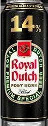 Royal Dutch Post Horn Black 14% Ultra Strong