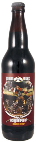 Clown Shoes Genghis Pecan Pie Porter (2012-2013) - Porter