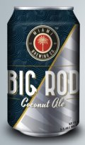 Miami Brewing Big Rod Blonde Ale