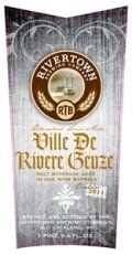 Rivertown Ville De Rivere Geuze - Lambic Style - Gueuze