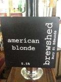 Brewshed American Blonde