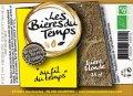 Les bi�res du temps Au fil du Temps - Belgian Ale