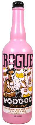 Rogue Voodoo Doughnut Chocolate Peanut Butter and Banana Ale - Fruit Beer