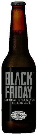 Lakefront Black Friday Imperial Black IPA