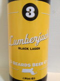 3 Beards Lumberjack Black Lager