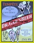 Dr. Gabs Beer Temp�te - Belgian Strong Ale