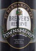 Townshend St Bernard�s Jet Brewer�s Reserve