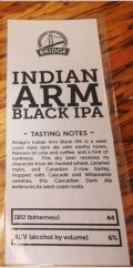 Bridge Indian Arm Black IPA
