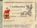 Gaverhopke Kerstbier - Belgian Strong Ale
