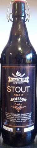 Franciscan Well Shandon Stout (Jameson Cask) - Imperial Stout