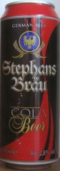 Stephans Br�u Cola Beer