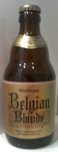 Waitrose Belgian Blonde