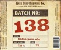 Knee Deep Batch 138 IPA - India Pale Ale (IPA)