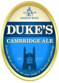 Greene King Duke�s Cambridge Ale - Golden Ale/Blond Ale