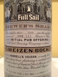 Full Sail Brewers Share Weizen Bock (Vendell�s Veizen)