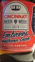 Cincinnati Beer Week 2013 Embree�s Northern Dark