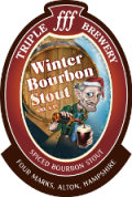 Triple fff Winter Bourbon Stout - Stout