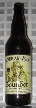 Boundary Bay Old Bounder - Barley Wine