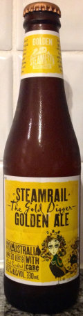 Steamrail The Gold Digger Golden Ale