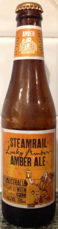 Steamrail Lucky Amber Amber Ale