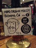 Hand Drawn Monkey No8