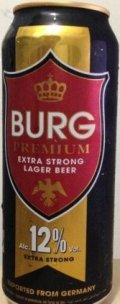 Burg Premium Extra Strong Lager 12%