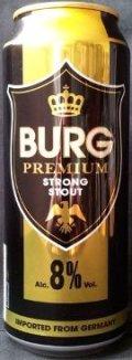 Burg Premium Strong Stout 8%