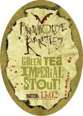 Flying Dog Brewhouse Rarities: Green Tea Imperial Stout - Imperial Stout