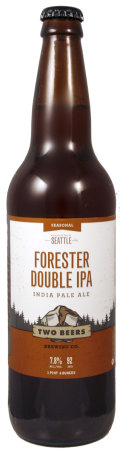 Two Beers Forester Double IPA