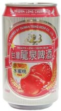 Taiwan Long Chuan Beer Fruit Bar Peach